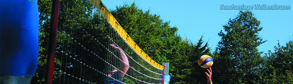 Beachvolleyballanlage Weibersbrunn